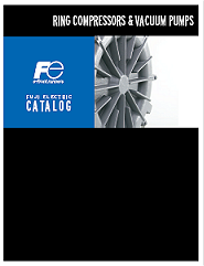 Fuji Electric Catalog for Ring Compressors and Vacuum Pumps